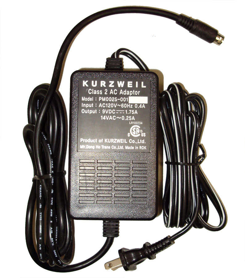 8th Street Music Kurzweil Pm0025 001 Power Supply