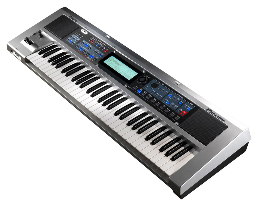Roland Prelude 61 Key Live Entertainment Keyboard Angled View