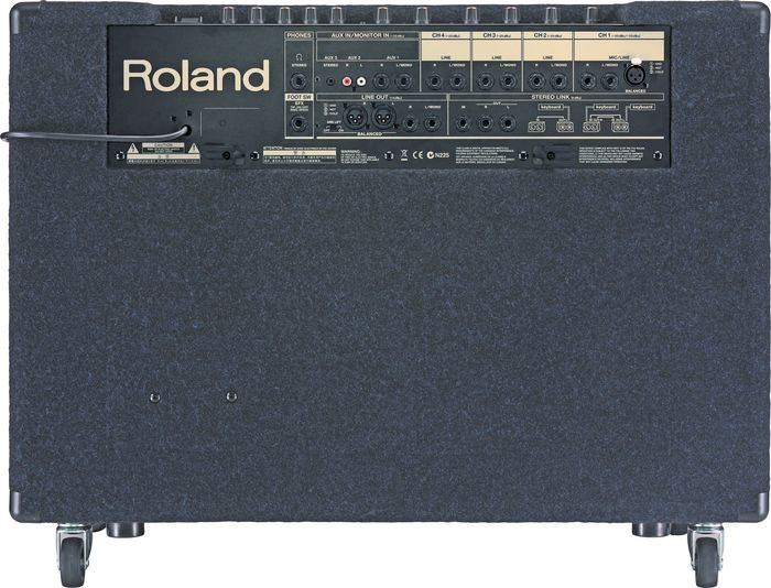 Roland KC-880 Rear View
