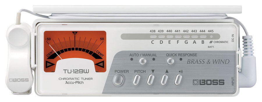TU-12BW Chromatic Tuner for Brass & Wind