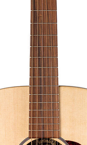 Martin DX1R Fingerboard View