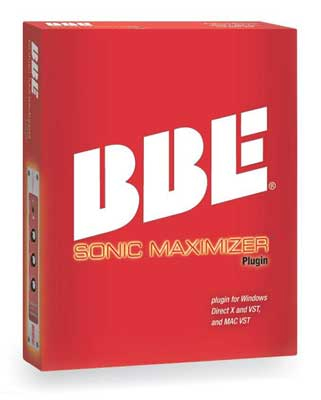 BBE Sonic Maximizer Plugin View 2