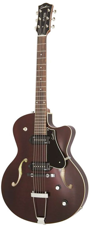 Godin 5th Avenue CW Kingpin II Archtop Burgundy