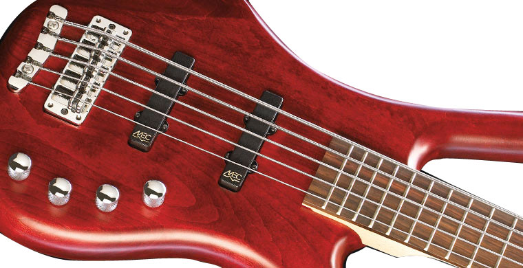 Warwick Corvette Basic 5-String Burgandy Red Bass Body