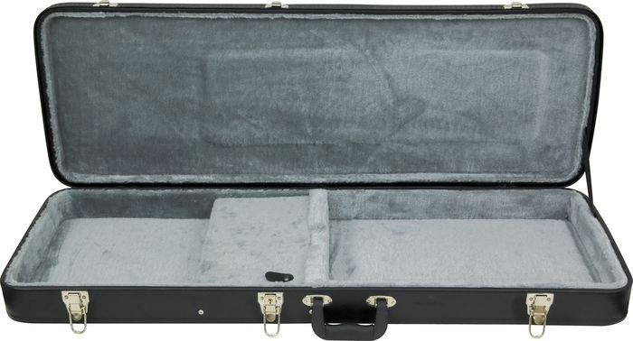 Kaces Hardshell Electric Guitar Case - British Flag Open Case