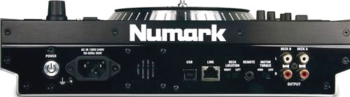 Numark V7 Rear View
