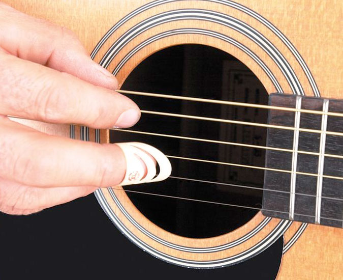 Finger Guitar Pick - Large