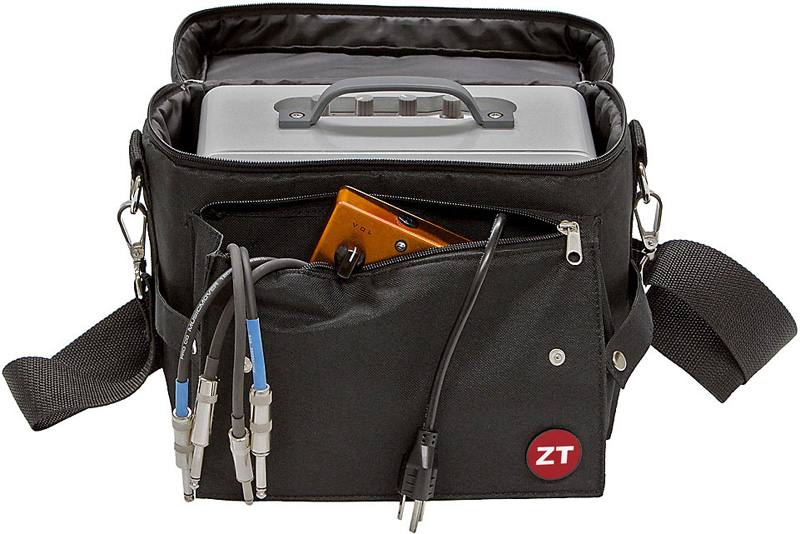 ZT Amplifiers The Lunchbox Carry Bag Generous Outer Pocket