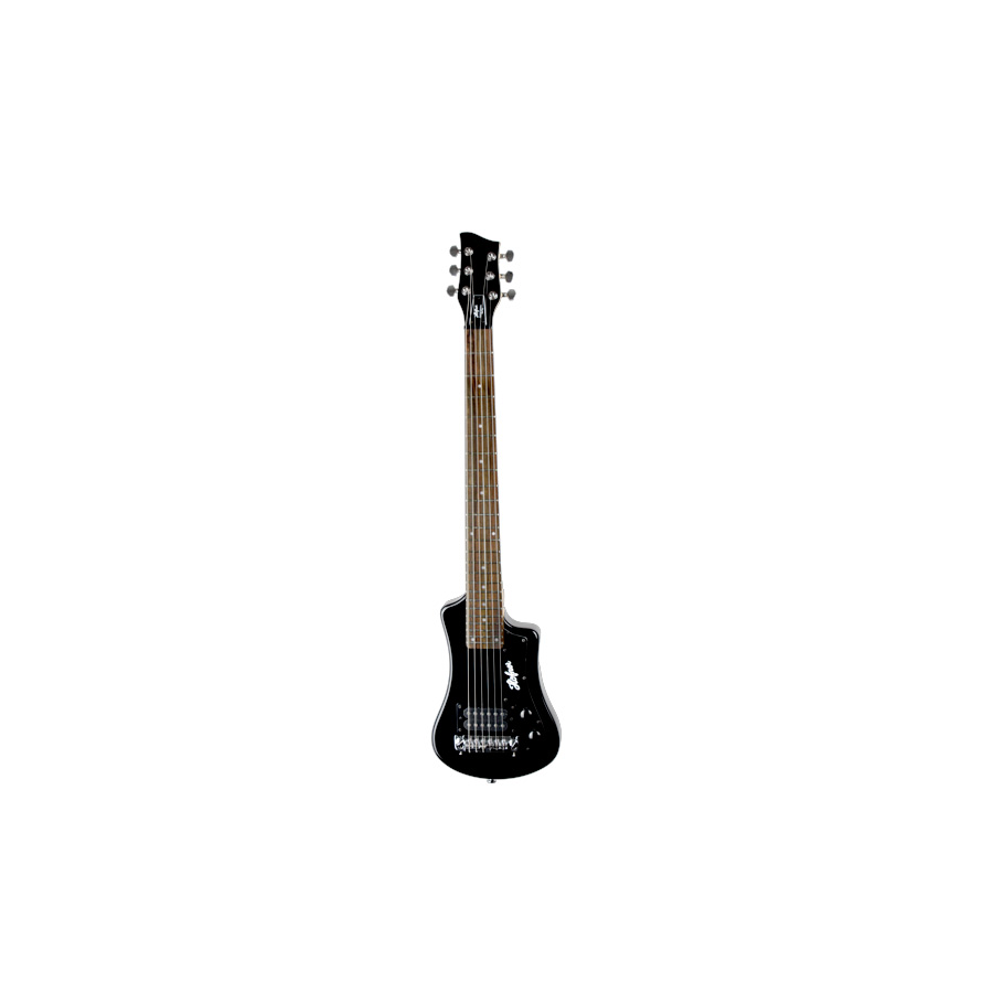 Hofner Shorty Guitar Black