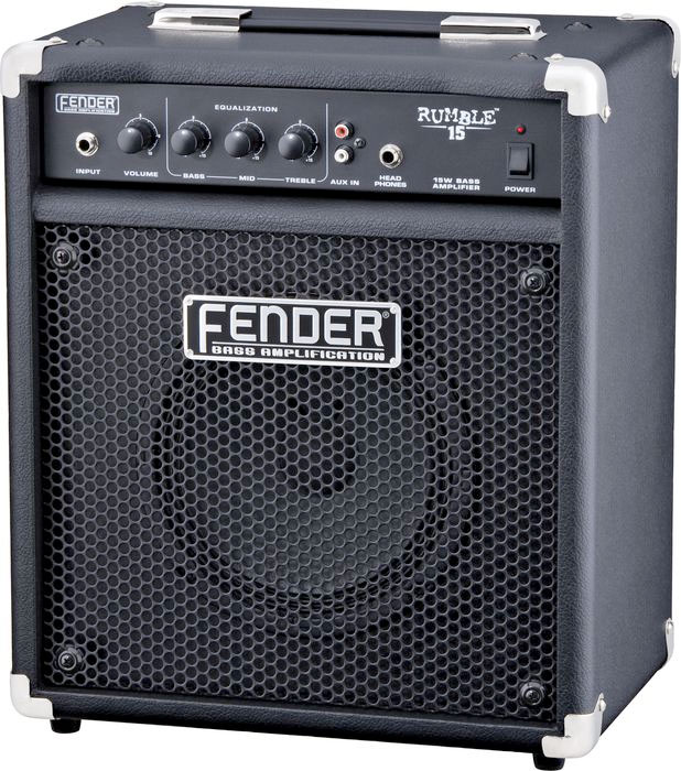 Fender Rumble 15 V2 Angled View