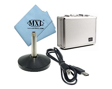 MXL MXL USB-77 Included Accesorries