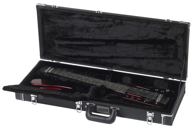 Traveler Black Tolex Hardshell Case Fits all Traveler Guitars, Guitar Not Included