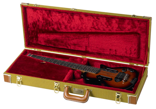 Traveler Vintage Tweed Hardshell Case Fits all Traveler Guitars, Guitar Not Included
