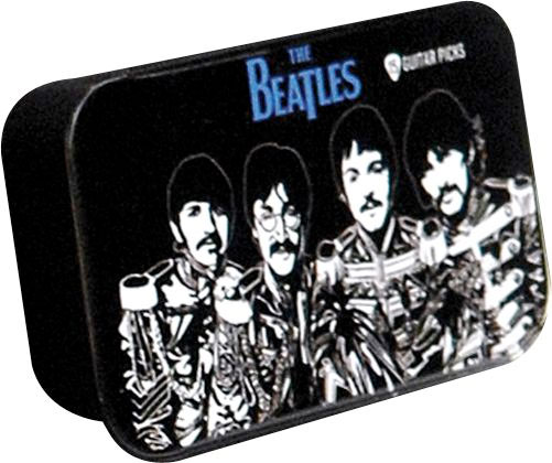 Planet Waves Beatles Collectible Pick Tin Sgt. Pepper