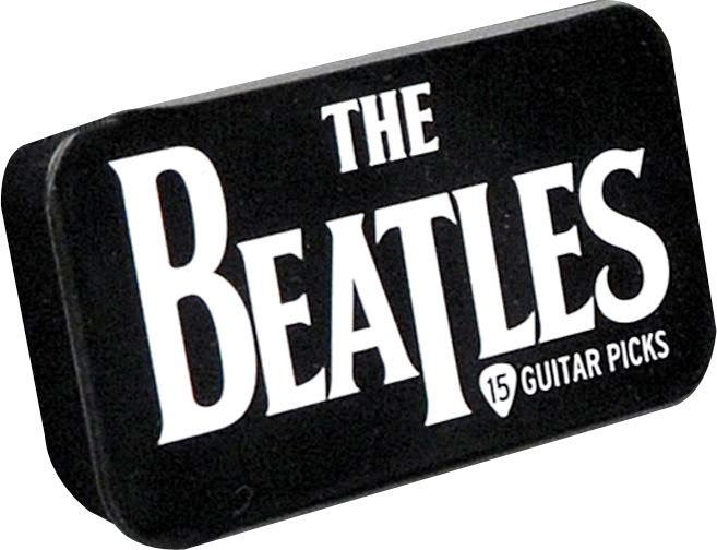Planet Waves Beatles Collectible Pick Tin Logo