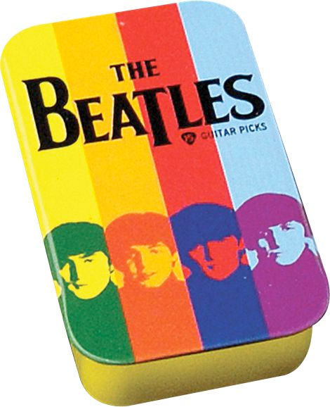 Planet Waves Beatles Collectible Pick Tin Stripes