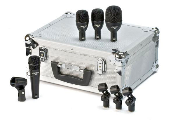 FP4 4-Piece Fusion Drum Microphone Package