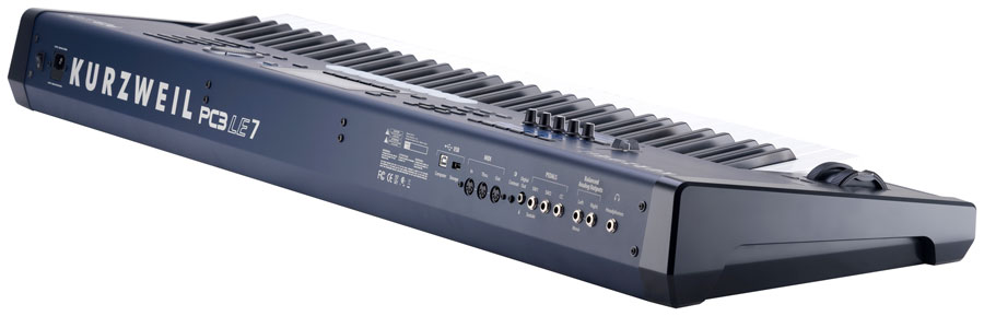 Kurzweil PC3LE7 Rear View