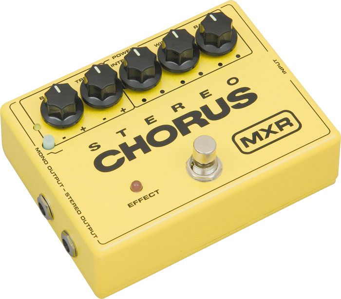 MXR Stereo Chrous Pedal M134  Right Angle