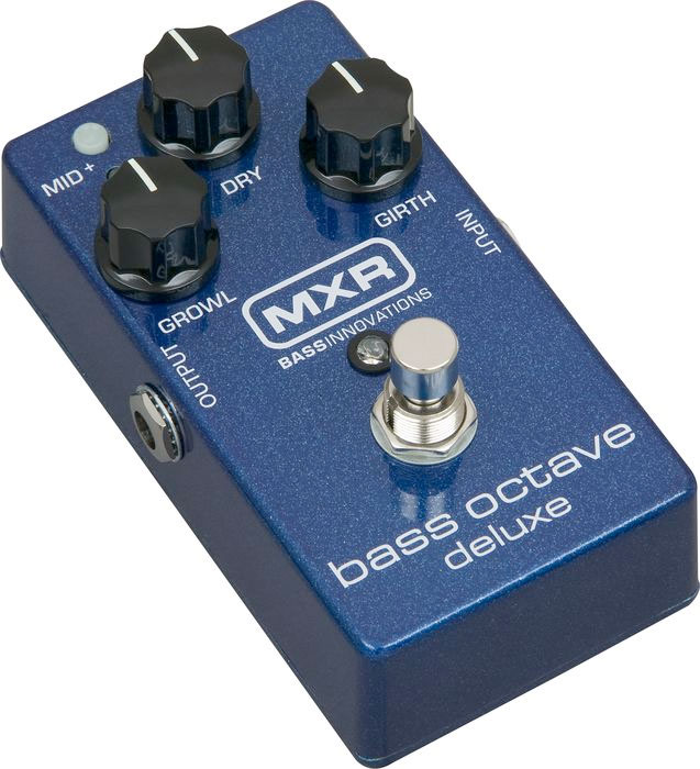 MXR Bass Octave Deluxe Effects Pedal M288  Right Angle