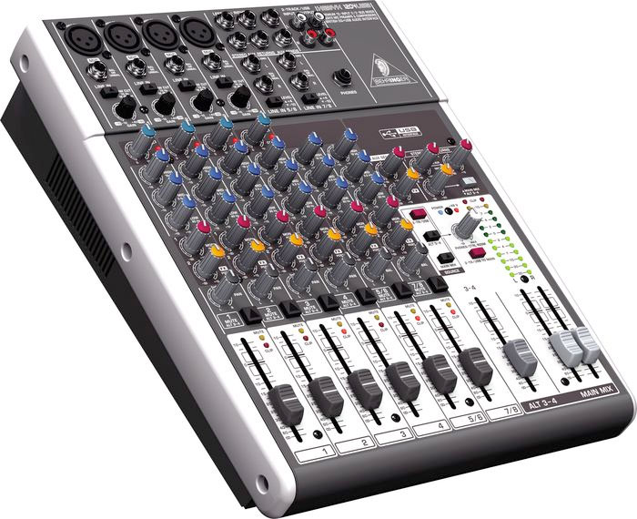 Behringer XENYX  1204USB Open Box Right Angle