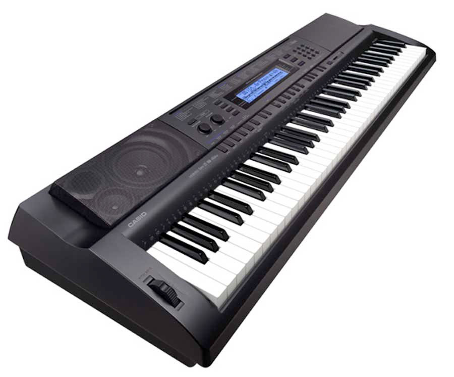 Casio WK500 Angle View