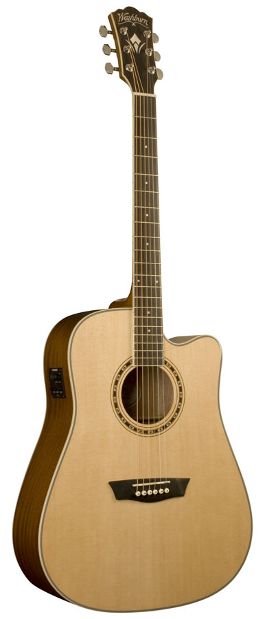 WD10SCE Dreadnought Acoustic-Electric Guitar