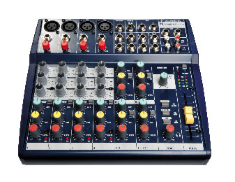 Soundcraft Notepad 124 FX Front View