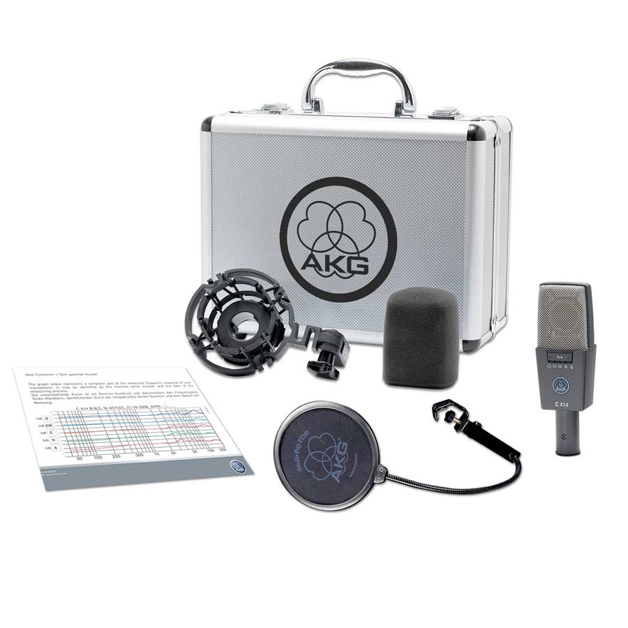 Akg C414 XLS Case and Accessories