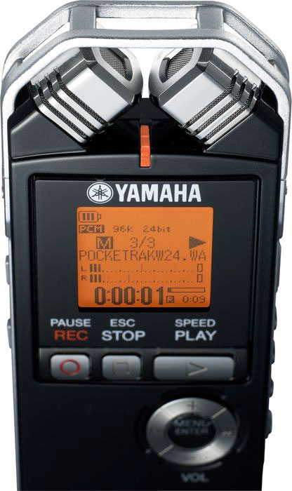 Yamaha PocketTrak W24 Detail Mic View