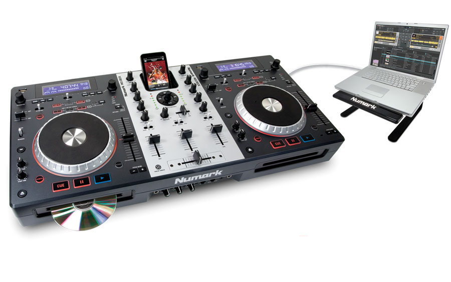 Numark MixDeck Mixdeck with Laptop