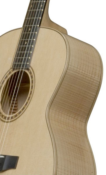 Bedell JB-52-G Jumbo Acoustic Guitar Front Body Detail