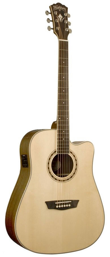 WD20SCE Dreadnought Acoustic-Electric Guitar