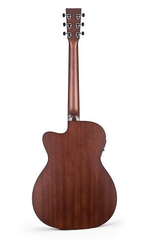 Martin OMC-16GTE Acoustic Electric Guitar Rear View