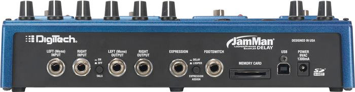 Digitech JamMan Delay Refurbished Rear View