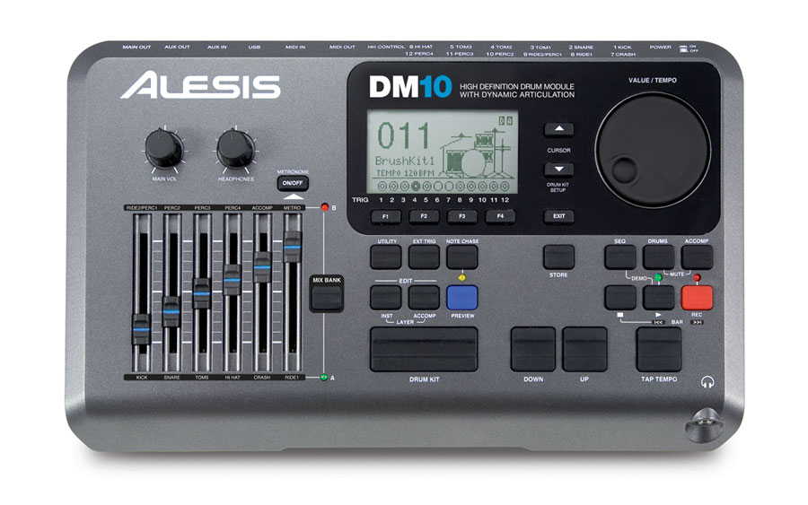 Alesis DM10 Drum Module Front View