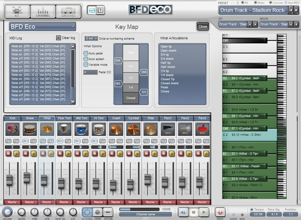 Fxpansion BFD Eco Screenshot 4