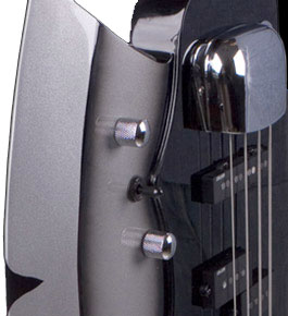 Cort Gene Simmons Axe Bass Detail View 3