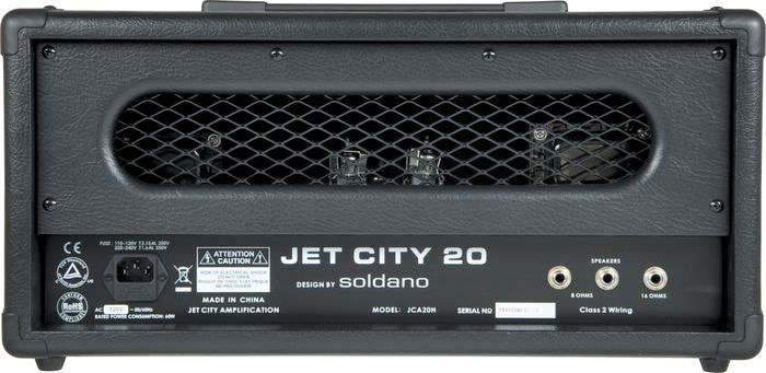 Jet City Amplification JCA20H Rear View