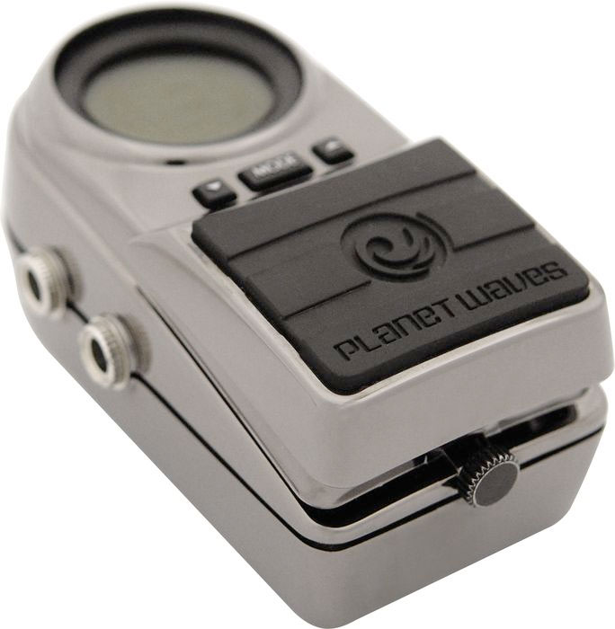 Planet Waves Tru-Strobe Pedal Tuner Angled View
