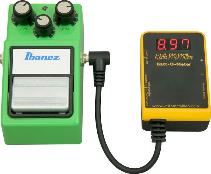 Keith McMillen Instruments Batt-O-Meter Battery Tester With Pedal