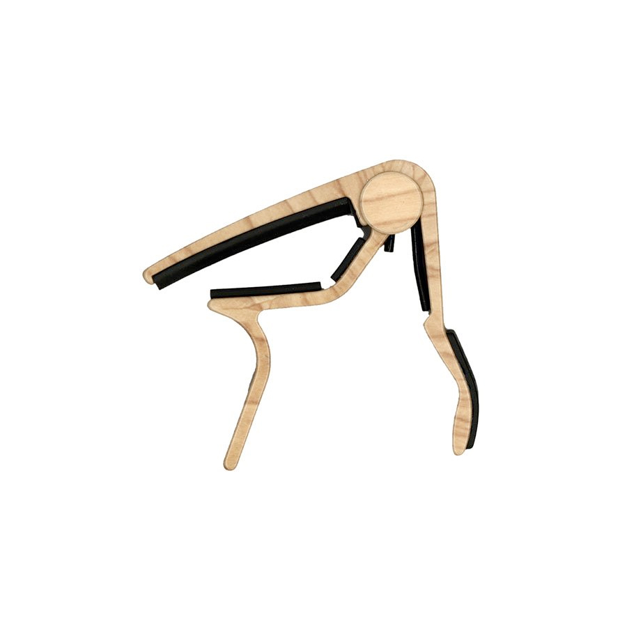 83CM Acoustic Maple Wood Trigger Curved Capo