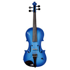 Barcus Berry Vibrato Acoustic Electric Violin Blue