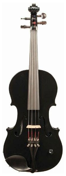 Vibrato Acoustic Electric Violin - Piano Black