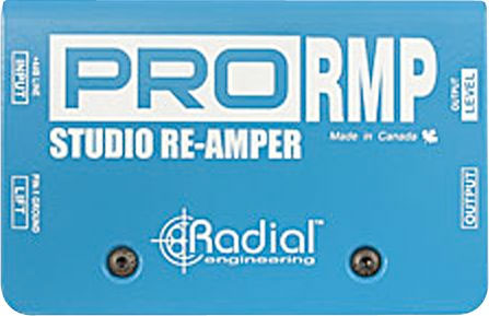 Radial Pro RMP Direct Box Top View