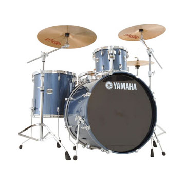SCB4F47 4-Piece Stage Custom Birch - Dark Blue Metallic