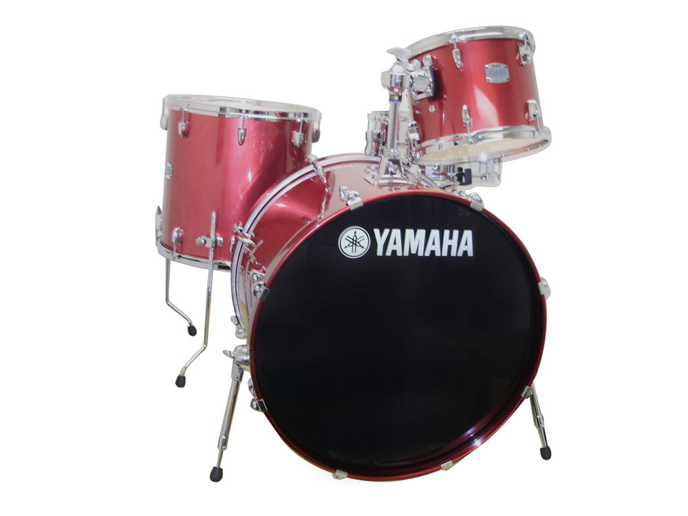 SCB4F47 4-Piece Stage Custom Birch - Raspberry Metallic
