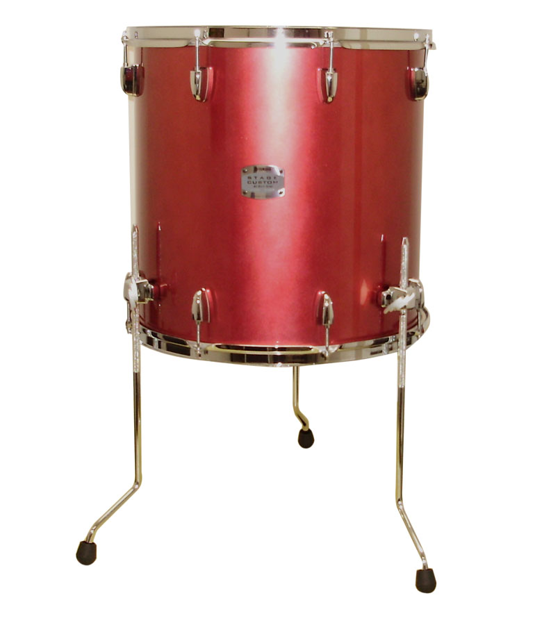Yamaha SCB4F47 4-Piece Stage Custom Birch - Raspberry Metallic View 2