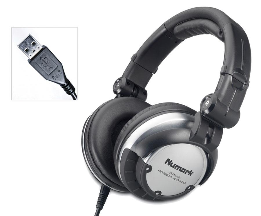 PHX USB - USB & Analog DJ Headphones