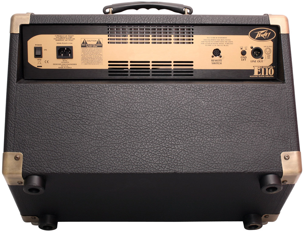 Peavey Ecoustic E110 Rear View